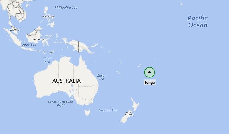 Where is Tonga Located?