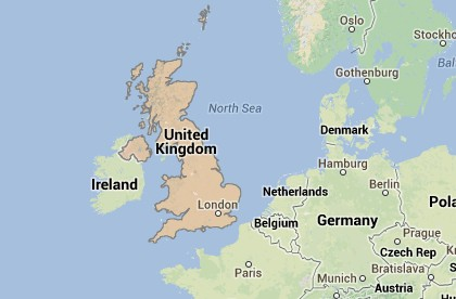 Where is UK Located?