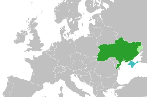 Where is Ukraine Located?