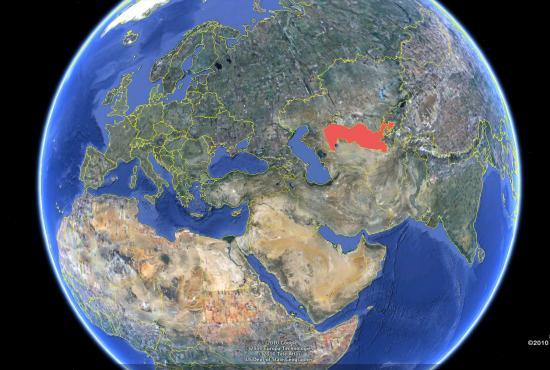 Where is Uzbekistan Located?