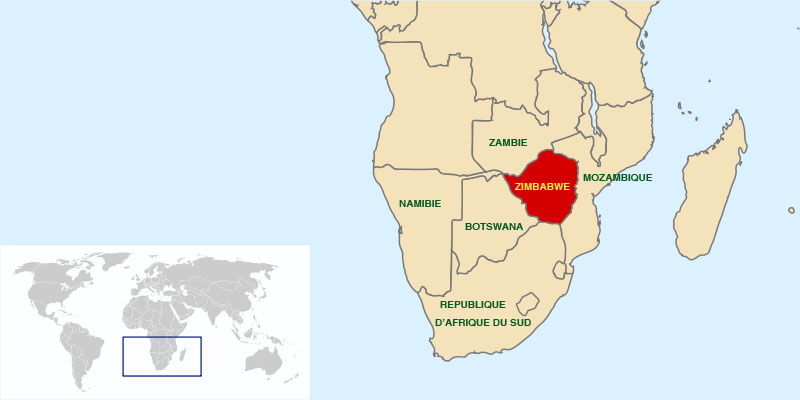 Where is Zimbabwe Located?